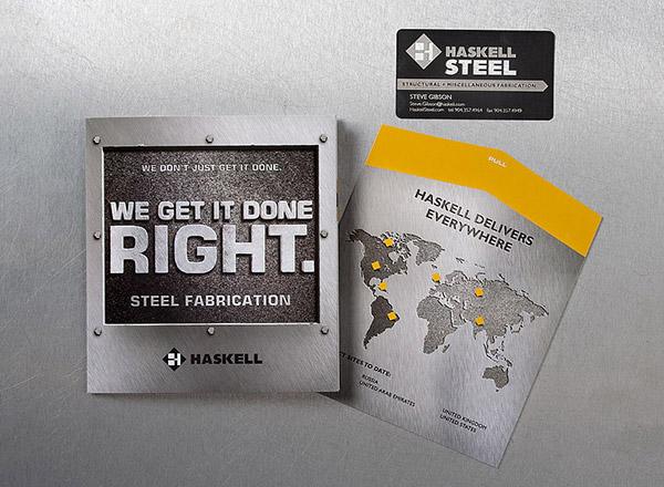 Brand: Haskell Steel
