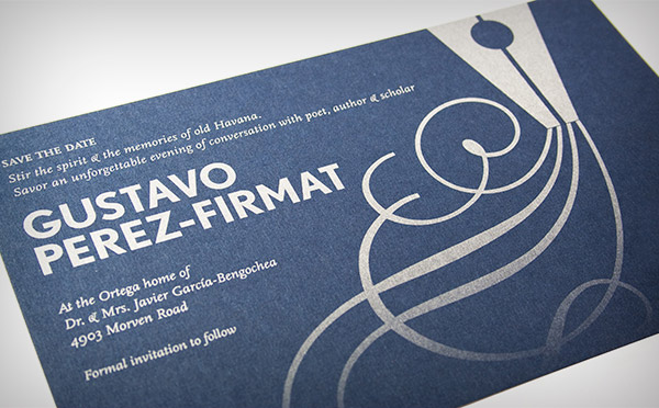 Collateral: Notable Author Series, Gustavo Perez-Firmat